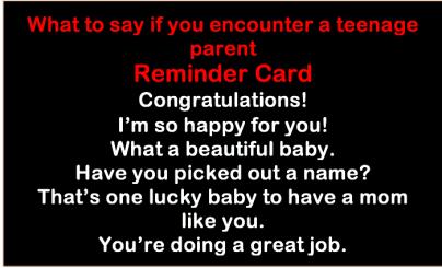 teenmom card